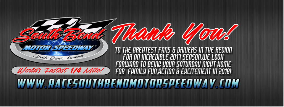 Thank you from all of us at the South Bend Motor Speedway